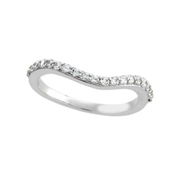 Curved Wedding Band by HL Manufacturing