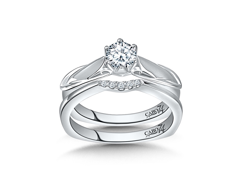 Caro74 Modernistic Collection Diamond Solitaire by Caro 74