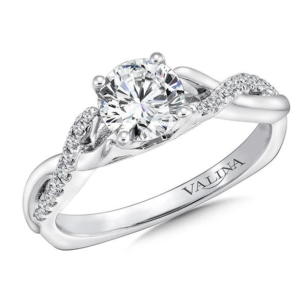 DelicateCathedral Design Engagement Ring by Valina