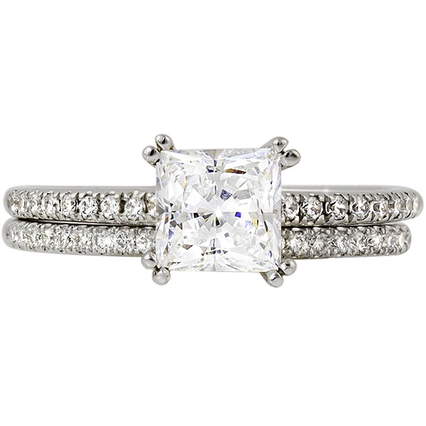 Princess Diamond Engagement Ring by Rego