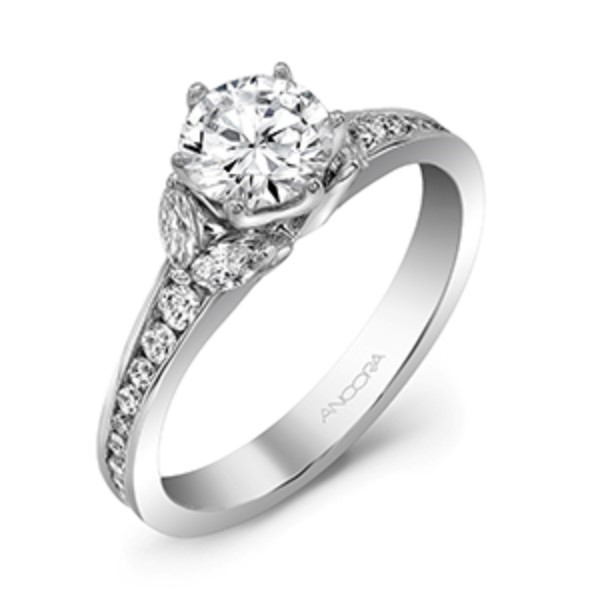 Classic Styling Diamond Ring by Ancora Designs