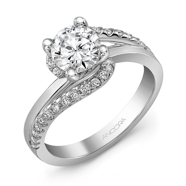 Bypass Diamond Ring by Ancora Designs