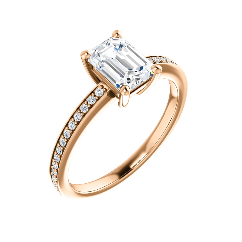 Accented Engagement Ring by Ever & Ever