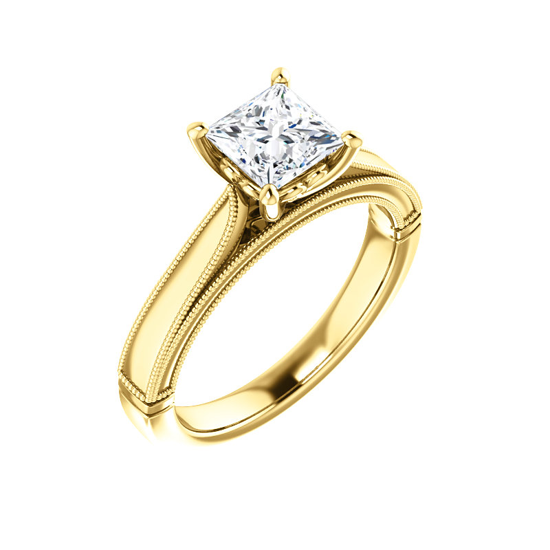 Solitaire Engagement Ring by Ever & Ever