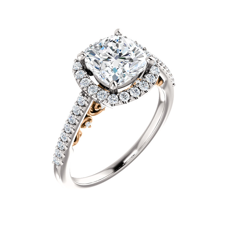 Gallery Halo-Style Engagement Ring by Ever & Ever