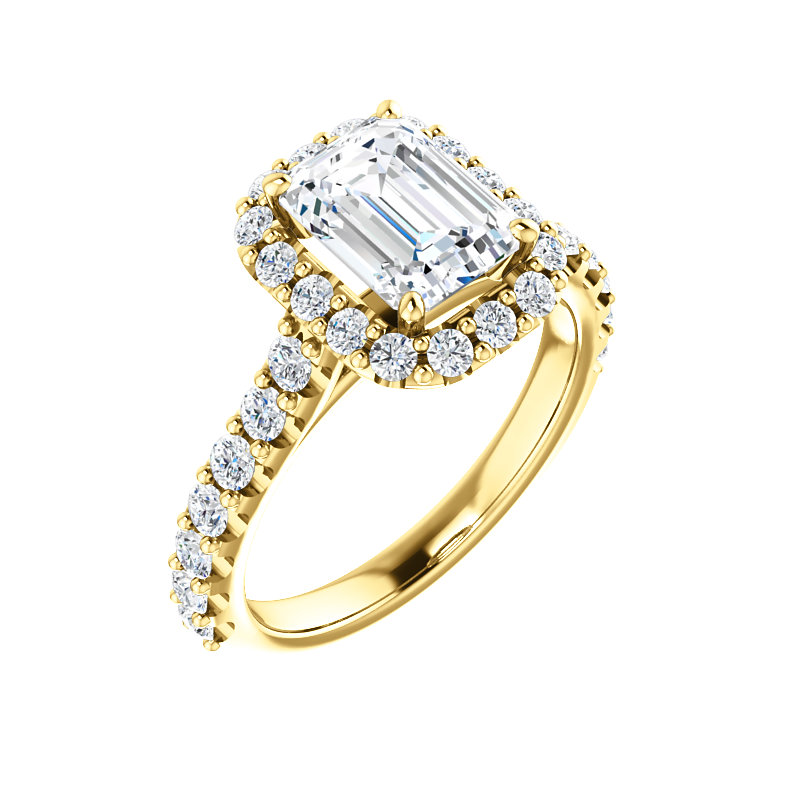 Cathedral Halo-Style Engagement Ring by Ever & Ever
