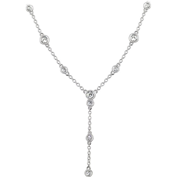 "Diamonds By The Yard ""Y"" Necklace by Rego"