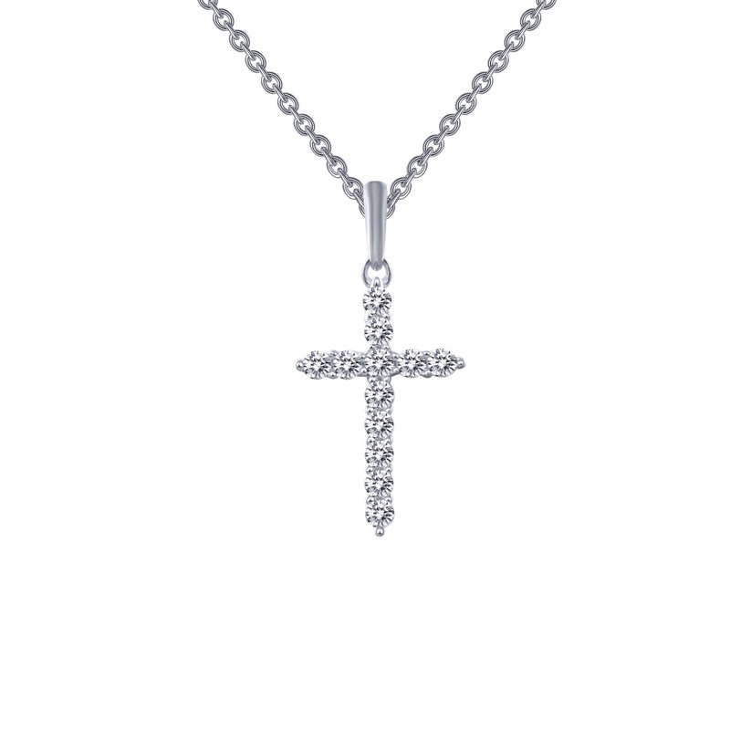 Cross Pendant and Chain by Lafonn